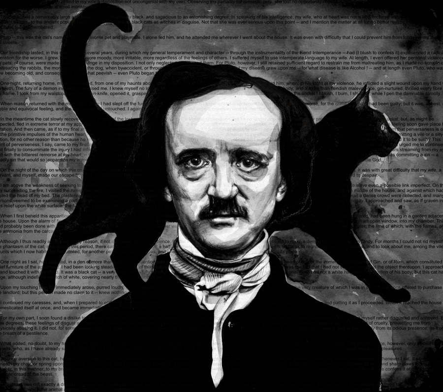 an analysis of what goes around comes around in the story the black cat by edgar allan poe The black cat edgar allan poe the rubbish on the floor was picked up with the minutest care i looked around triumphantly.